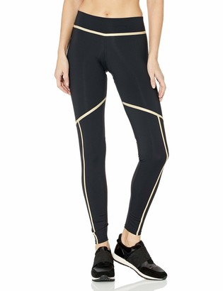 Luli Fama Women's Gold Trimmed Legging