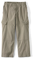 Classic Boys Husky Iron Knee® Pull-on Ripstop Pants-Antique Olive Camouflage