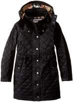 Burberry Foxmoore Long Jacket Girl's Coat