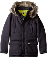 Armani Junior Down Jacket with Faux Fur Trim Boy's Coat