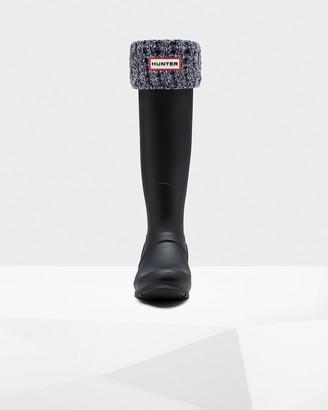 Hunter Waffle Roped Tall Boot Socks