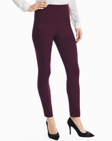 White House Black Market Faux Suede Leggings