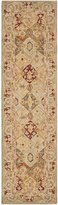 Safavieh Anatolia Collection AN530A Handmade Beige and Multi Wool Runner, 2 feet 3 inches by 12 feet