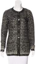 Chanel Wool Embellished Cardigan