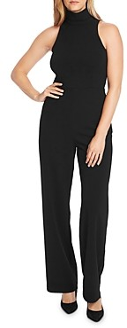 Vince Camuto Sleeveless Mock Neck Jumpsuit