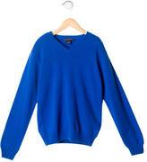 Oscar de la Renta Boys' Cashmere V-Neck Sweater