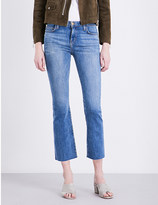 Current/Elliott Kick cropped slim-fit jeans