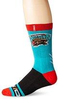 Stance Men's Vancouver Grizzlies Hardwood Classics Crew Sock