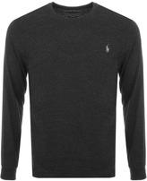 Ralph Lauren Long Sleeved T Shirt Black