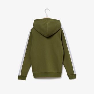 Lacoste Boys' Hooded Fleece Sweatshirt