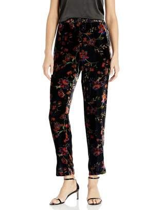For Love and Liberty Women's Velvet Printed Pants