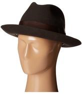 Stacy Adams Wool Felt Fedora w/ Grosgrain Band Fedora Hats