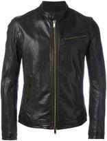Dondup banded collar jacket - men - Lamb Skin/Polyester - 48