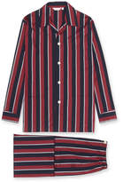 Derek Rose Men's Classic Fit Regimental Stripe Pajamas