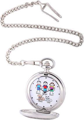 FINE JEWELRY Unisex Adult Silver Tone Bracelet Watch-41477-S