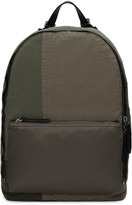 3.1 Phillip Lim Green Patchwork Hour Backpack
