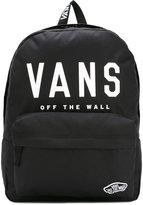 Vans branded front backpack - unisex - Canvas - One Size