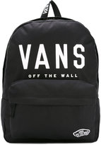 Vans branded front backpack