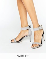 Asos HANSON Wide Fit Heeled Sandals