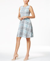 Tommy Hilfiger Tweed A-Line Dress