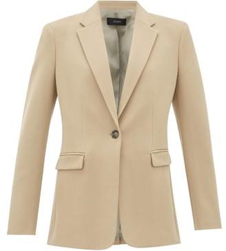 Joseph New Laurent Wool-blend Blazer - Beige