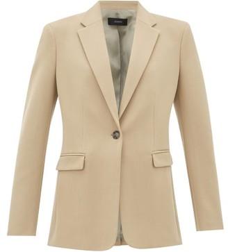 Joseph New Laurent Wool-blend Blazer - Womens - Beige