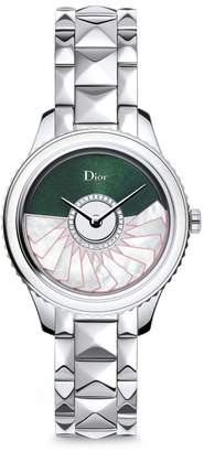 Christian Dior VIII Grand Bal Limited-Edition Montaigne Diamond, Alligator & Stainless Steel Automatic Watch
