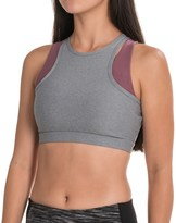 Mondetta Double-Layer Sports Bra - Medium Impact, Racerback (For Women)