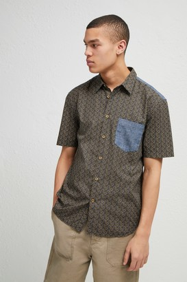French Connection Kast Tile Short Sleeve Shirt
