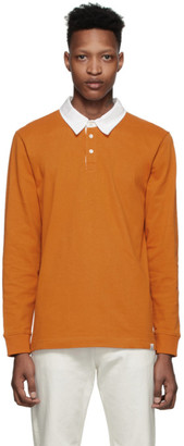 Norse Projects Orange Ruben Polo