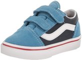 Vans Toddlers Old Skool V (2Tone) Skate Shoe 9.5 Infants US