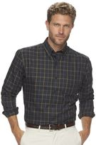 Arrow Men's Classic-Fit Plaid Button-Down Shirt
