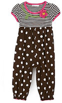 Bonnie Baby Newborn Striped & Dotted Party Pants