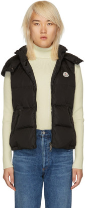 Moncler Black Down Gallinule Vest