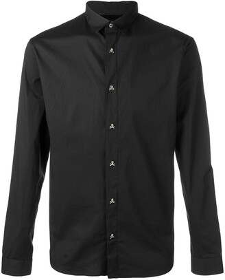 Philipp Plein long-sleeve fitted shirt