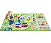 "Kids Play Car Rug - Community Carpet Mat Large, 78"" x 39"""