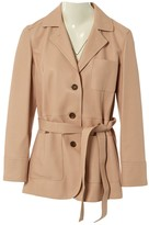 Loewe Pink Leather Leather Jacket for Women