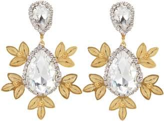 Mallarino Garance Crystal Drop Earrings