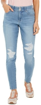 Style&Co. Style & Co Distressed Curvy Jeans, Created For Macy's