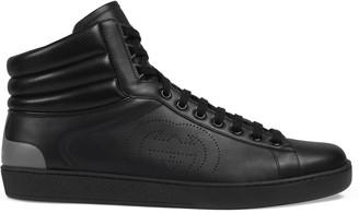 Gucci Men's high-top Ace sneaker