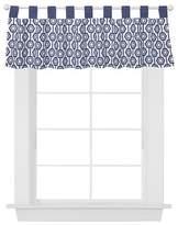Trend Lab Window Valance - Blue Hexagon