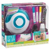 STYLE ME UP Light My Style Light Up Nail Dryer and Chalkboard Nail Art