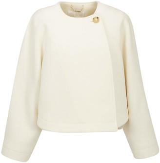 Chloé Single Button Cropped Jacket