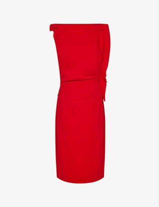 Reiss Robyn woven midi dress