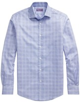 Ralph Lauren Purple Label Aston Checkered Dress Shirt