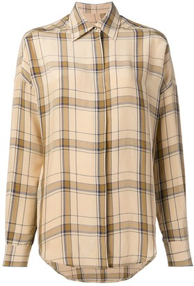 Alberto Biani Classic Plaid Shirt