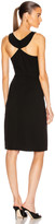 Givenchy Sleeveless Fitted Short Dress in Black | FWRD