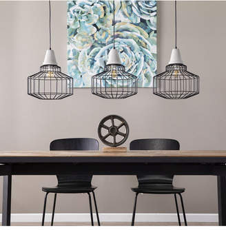 Southern Enterprises Robin Cage Pendant Lamp 3 Piece Set