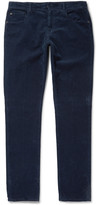 Boglioli - Slim-fit Stretch-cotton Corduroy Trousers