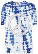 Acne Studios Niagara Peace Printed Cotton T-shirt